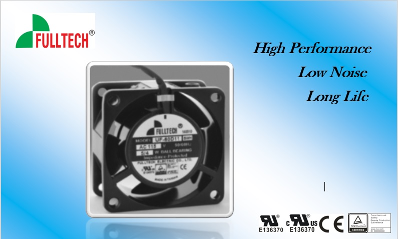 High Quality Cooling fan are able to withstand higher voltage - Fulltech Electric