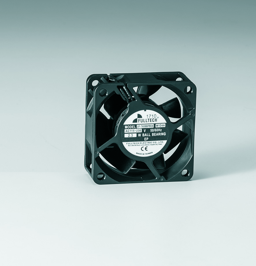 Fulltech Electric announces new EC fan product - UF-T60B