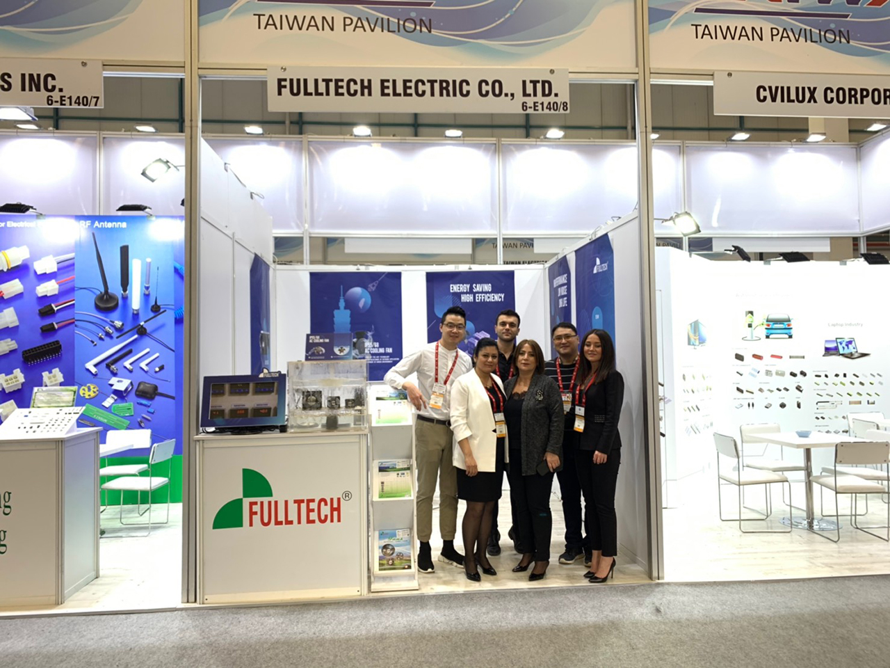 2019 WIN EURASIA is the first exhibition Fulltech Electric Co., Ltd. attended in Turkey