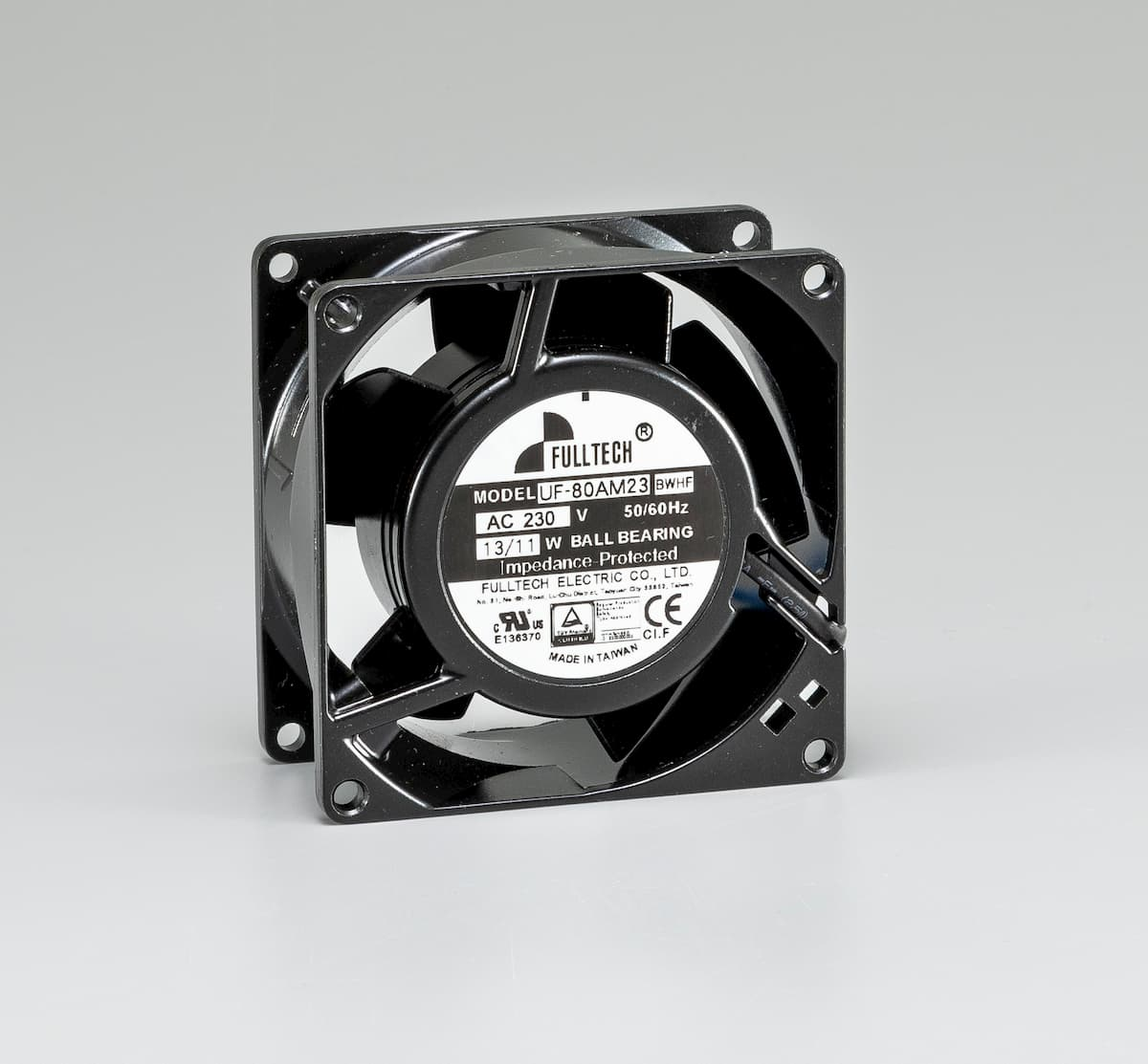 New AC fan - UF80A(M)Series - Fulltech